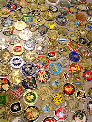 armed forces challenge coins